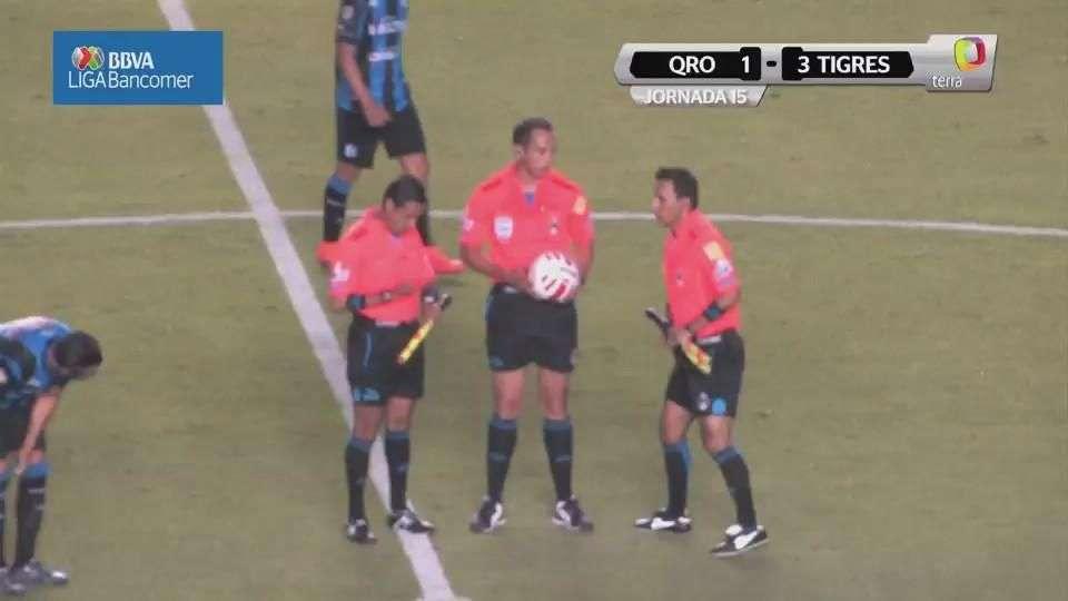 Jornada 15, Querétaro 1-3 Tigres, Clausura 2015