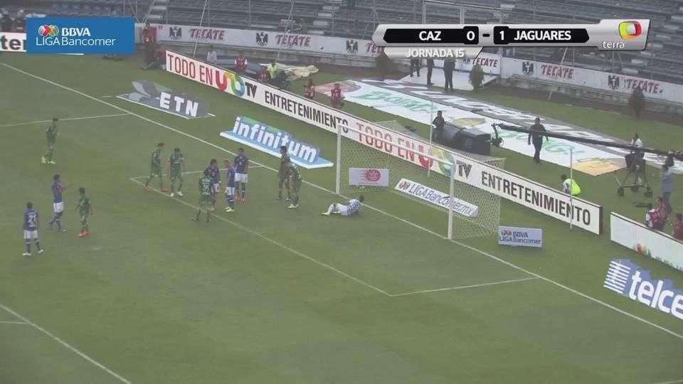 Jornada 15, Cruz Azul 0-1 Jaguares, Clausura 2015