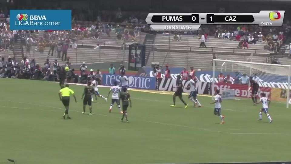Jornada 16, Pumas 0-1 Cruz Azul, Liga Mx, Clausura 2015