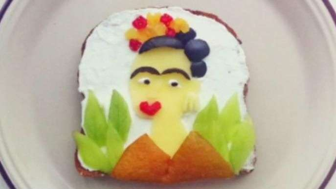 Desayuno artístico: Pinturas famosas sobre una tostada