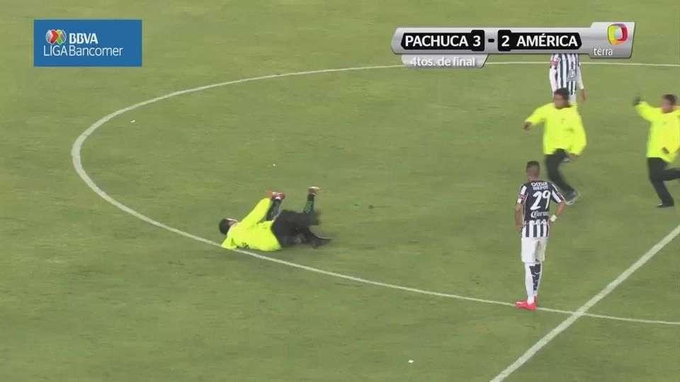Cuartos de final, Pachuca 3-2 América, Clausura 2015