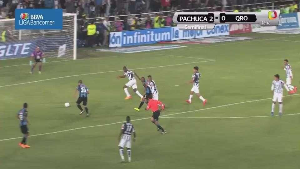 Semifinal, Pachuca 2-0 Querétaro, Clausura 2015