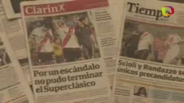 "ONG, no violencia en fútbol pide ""decisión presidencial"" contra barras"
