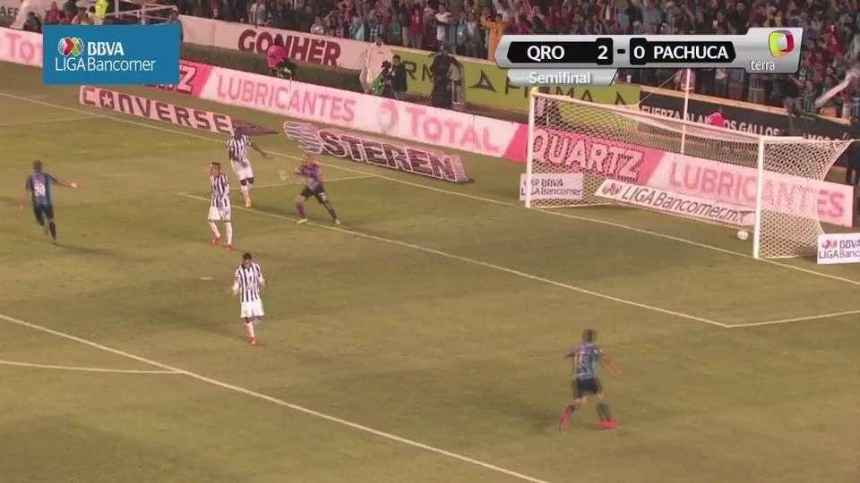 Semifinal, Querétaro 2-0 Pachuca, Juego de Vuelta, Clausura 2015