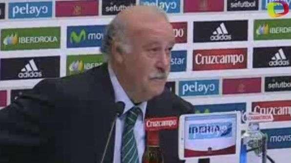 Del Bosque: 'Ancelotti deja huella y Rafa entre los grandes'