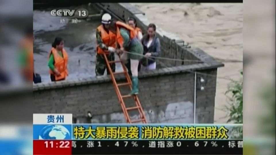 Continúan evacuaciones al sur de China por inundaciones