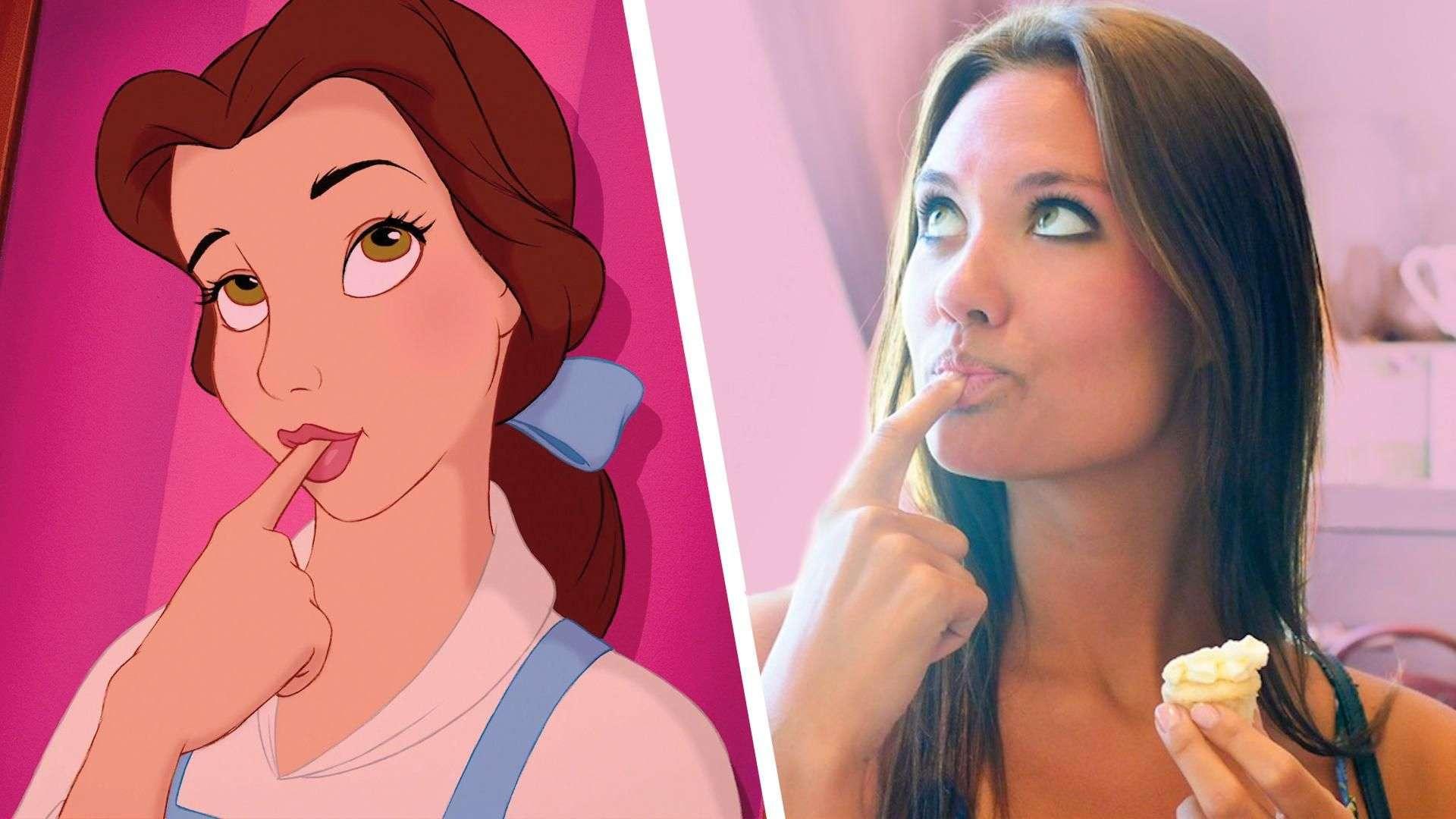Si las princesas de Disney fueran reales