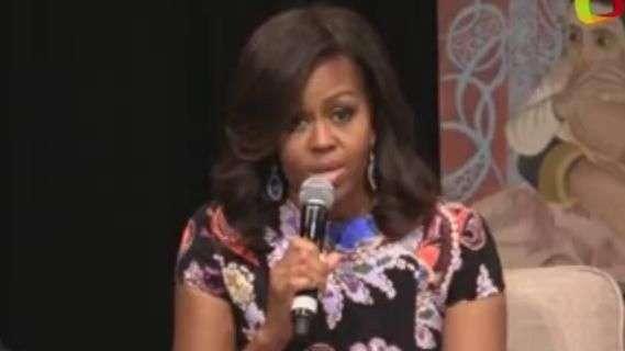 Michelle Obama aboga por la educación de las niñas