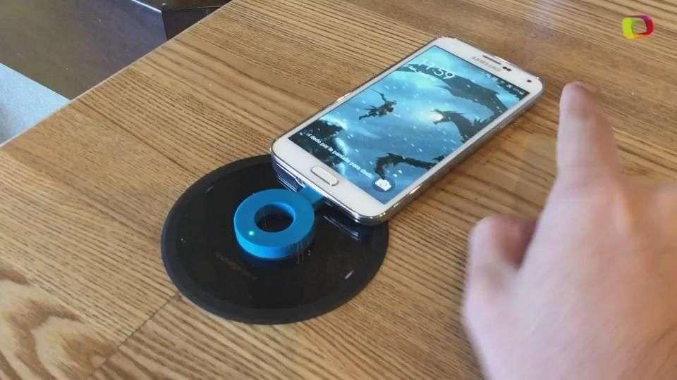 Reseña: Un dispositivo de carga inalámbrica para smartphones