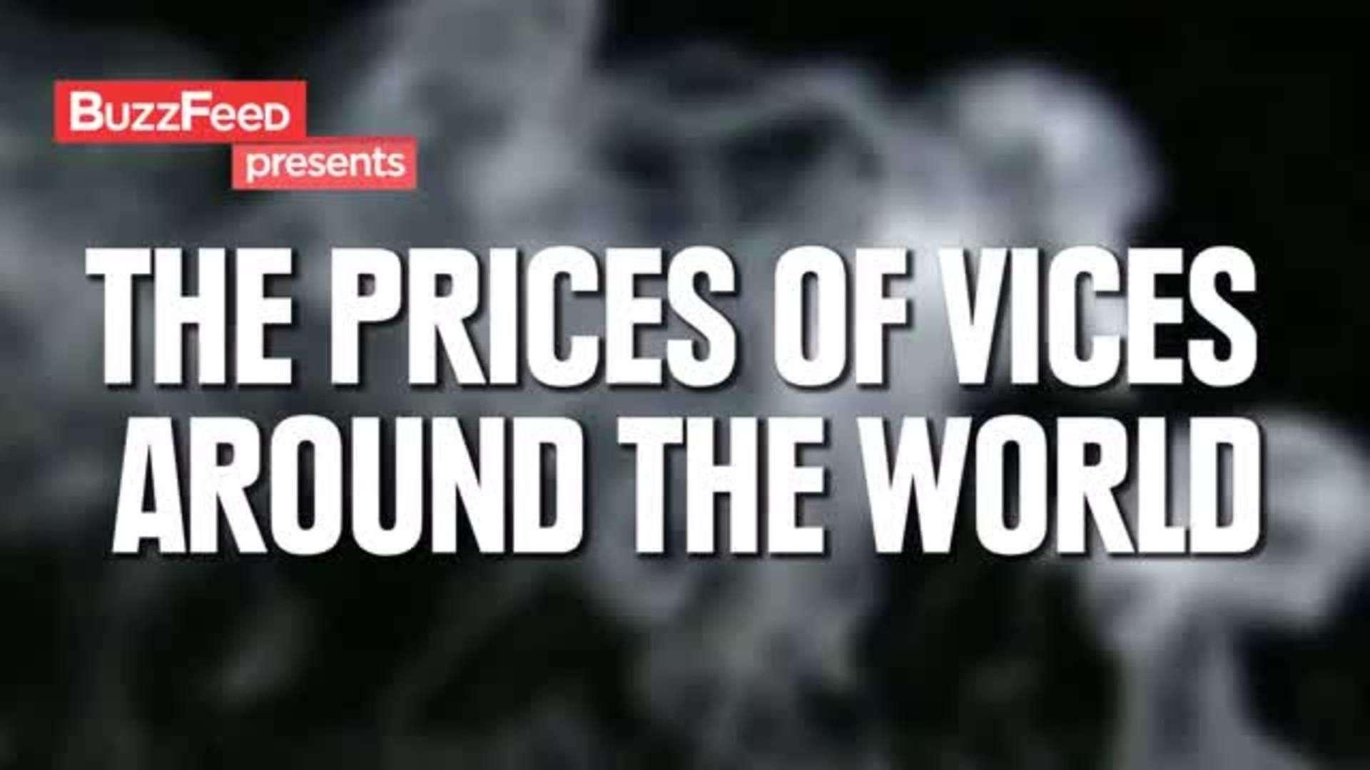 Lo que cuestan los vicios alrededor del mundo
