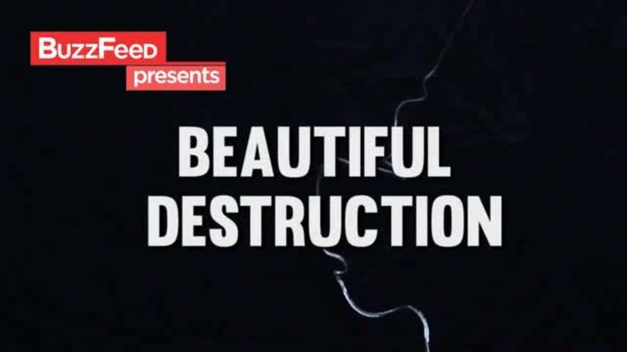 Hermosa destrucción: gotas del Príncipe Rupert
