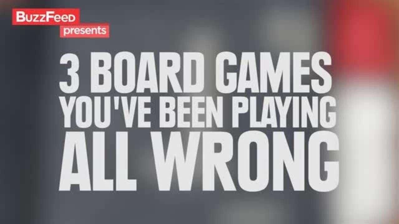 3 Juegos de mesa que has jugado mal