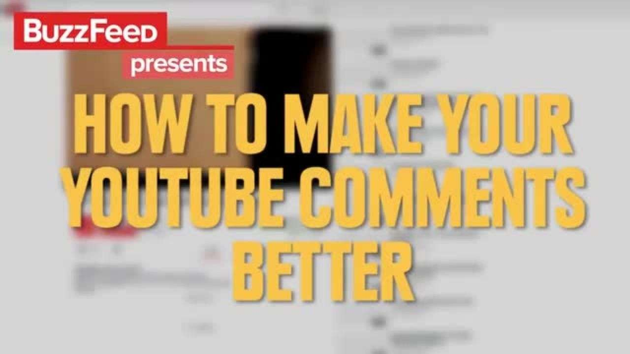Cómo mejorar tus comentarios en YouTube
