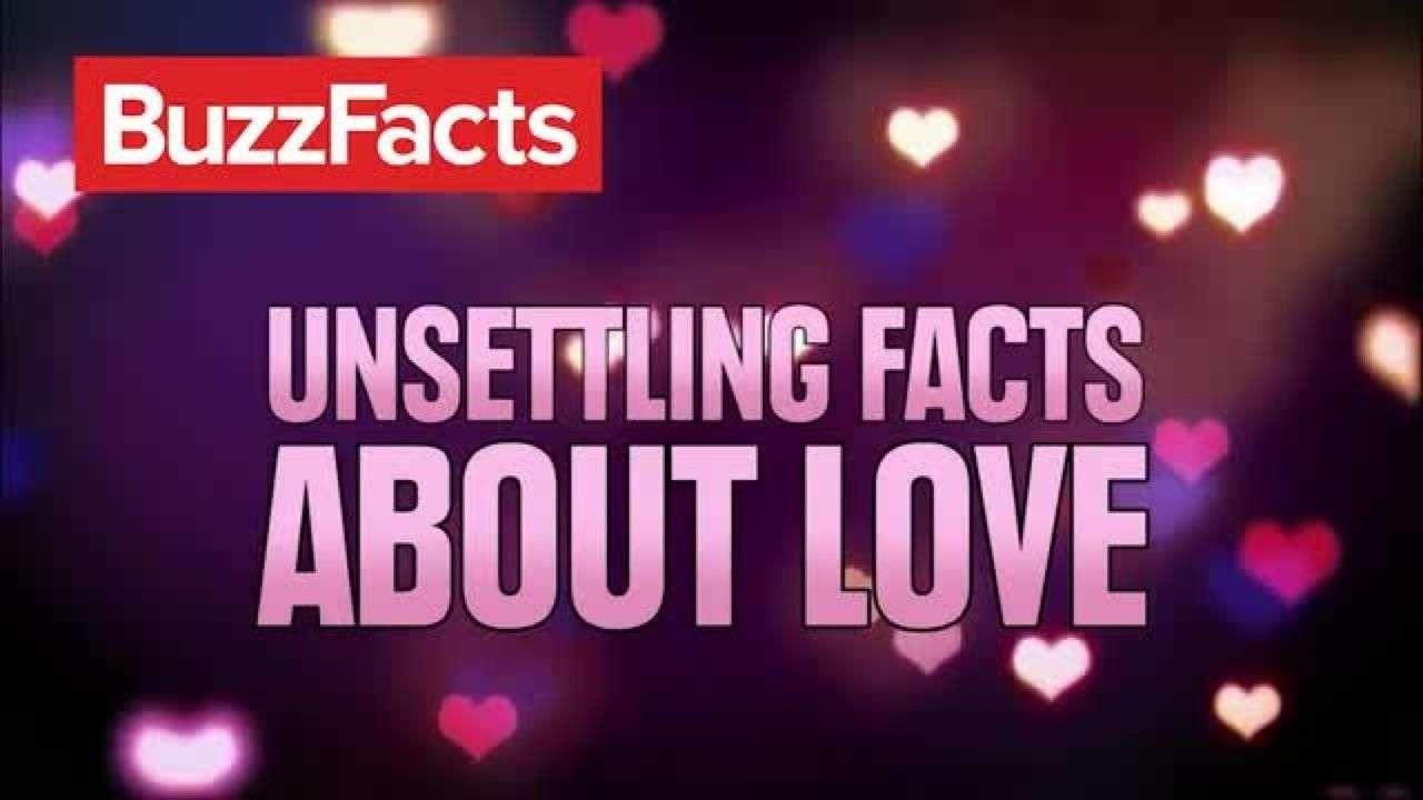 Hechos inquietantes sobre el amor
