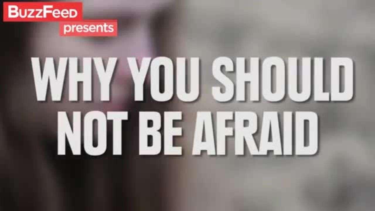 Por qué no debes espantarte