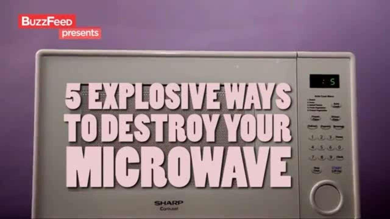 Por qué los microondas son aterradores