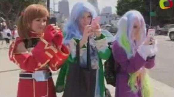 El 'anime' japonés conquista Los Ángeles