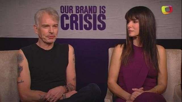 'Our Brand Is Crisis', la rivalidad entre Sandra Bullock y Billy Bob Thornton llega a la política