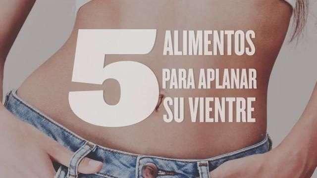5 alimentos para tener el abdomen perfecto