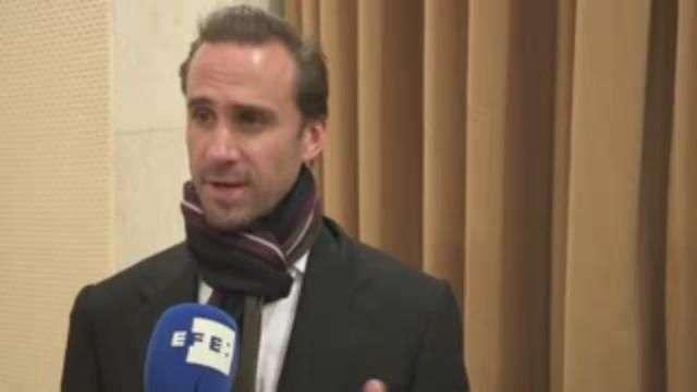 """Joseph Fiennes y María Botto presentan """"Risen"""" en el Vaticano"""