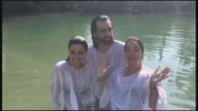 Maite Perroni y Adamari López se vuelven a bautizar en el Jordán