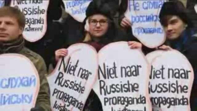 Van Gogh inspira campaña ucraniana para no escuchar la propaganda rusa en Holanda