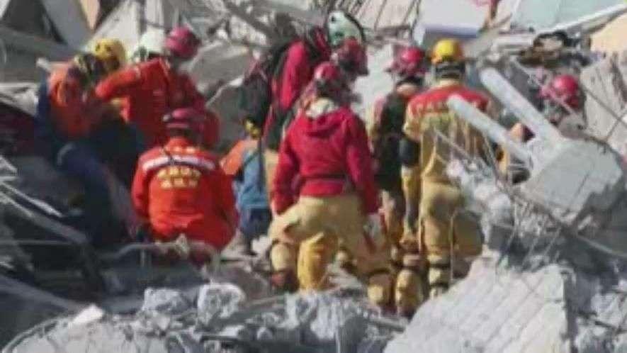 Continúan las labores de rescate tras el terremoto en Taiwán