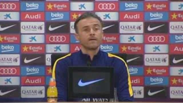 Luis Enrique dice que a pesar del 7-0 contra el Valencia no será fácil