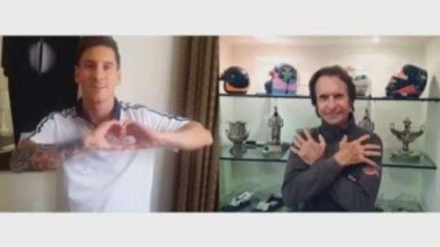 Messi y otras figuras apoyan campaña de donación de órganos