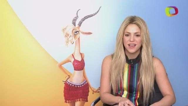Shakira invita a los amigos de Terra a ver Zootopia