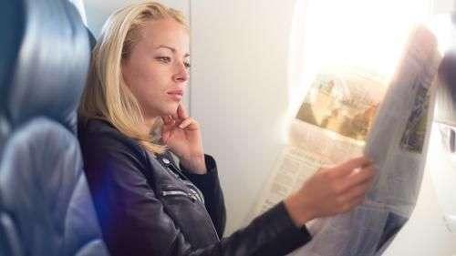 ¿Cómo estar libre de gérmenes en los aviones?