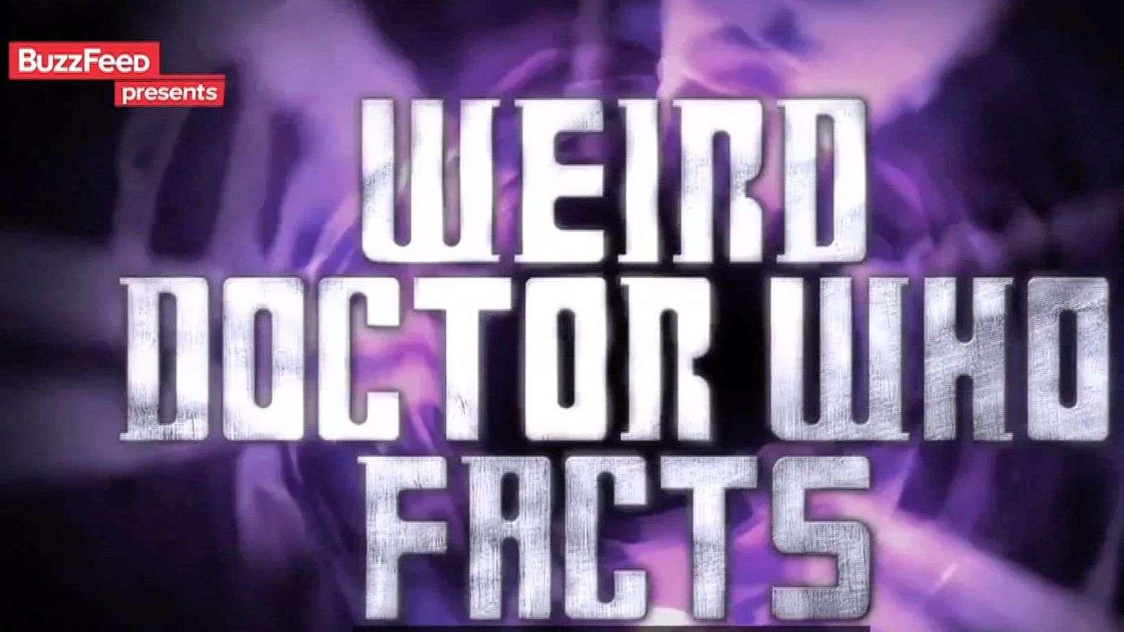 Datos raros de Doctor Who