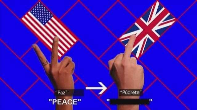 Significado de las señas manuales alrededor del mundo