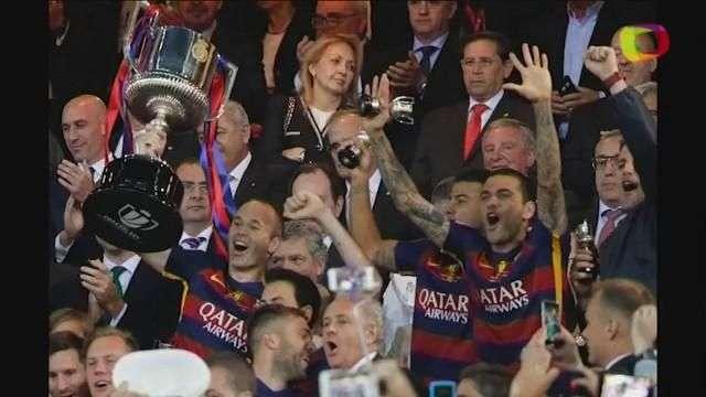 El Barcelona gana la Copa del Rey y culmina un doblete inolvidable