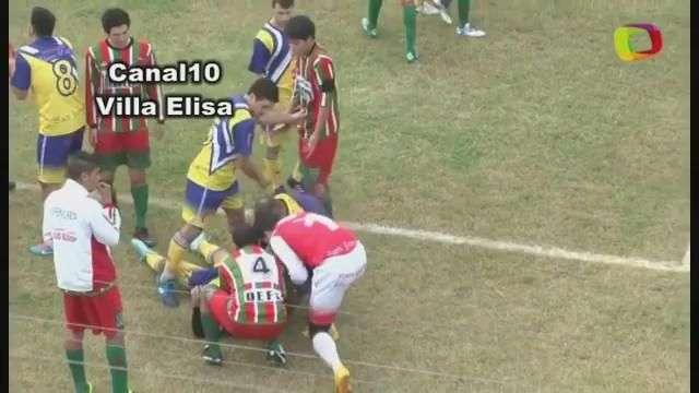 En tragedia terminó partido de fútbol regional en Argentina