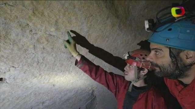 Hallan en el norte de España una cueva con grabados del paleolítico superior