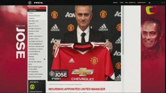 Mourinho es confirmado como nuevo entrrenador del Manchester United