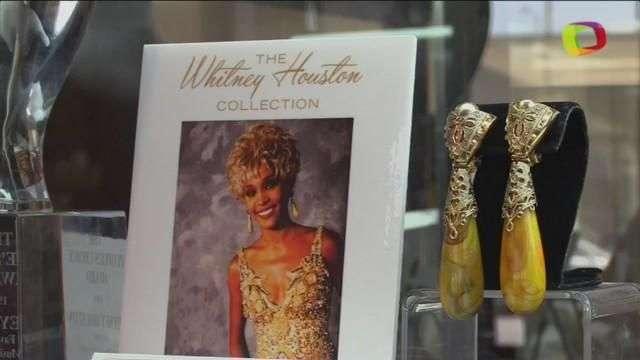 Los objetos personales de Whitney Houston salen a subasta en LA