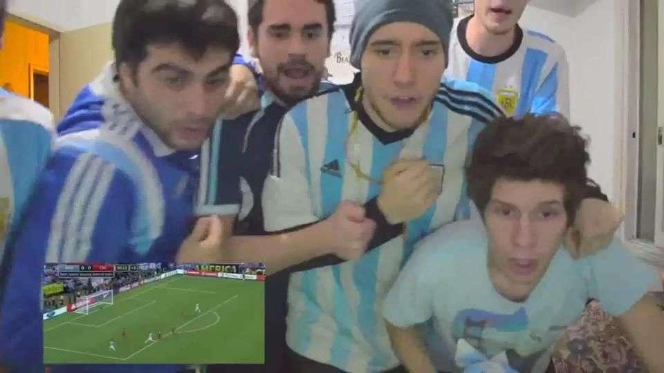 Así fue la reacción de los argentinos tras la derrota
