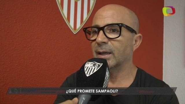 """Sampaoli, en busca de """"grandes cosas"""" en Europa"""