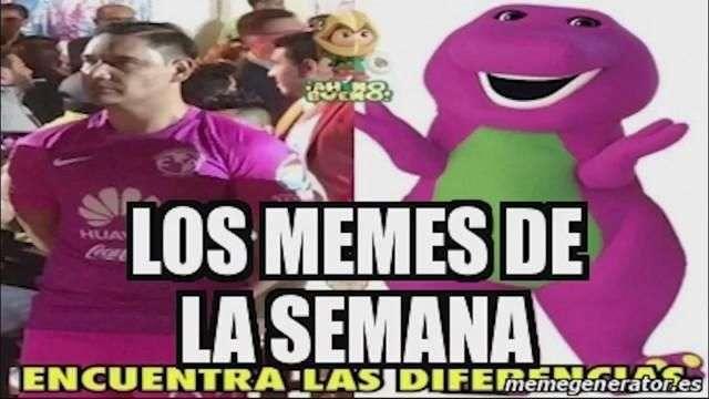 Hoy en los memes de la semana: Lady Metichona, La playera del América y más