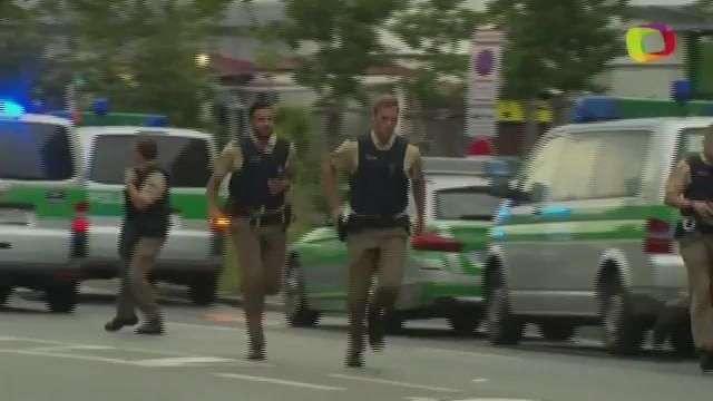 Las autoridades buscan al autor o autores del tiroteo en Múnich