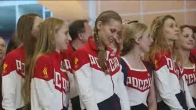 El equipo olímpico ruso viaja a Río de Janeiro