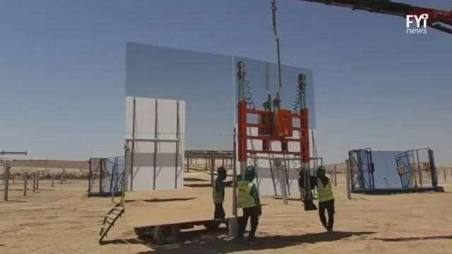 55.000 espejos darán energía a Israel