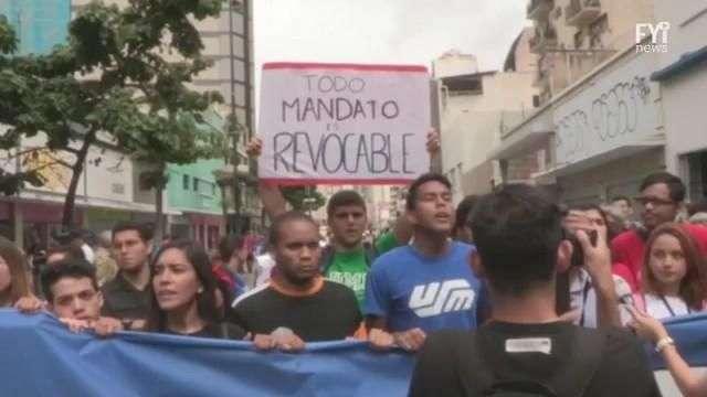Venezuela quiere comerse las calles