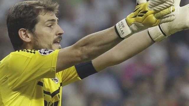 Iker Casillas el hombre de la Champions League