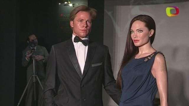 El divorcio Jolie-Pitt ha llegado al Museo de Cera de Madrid