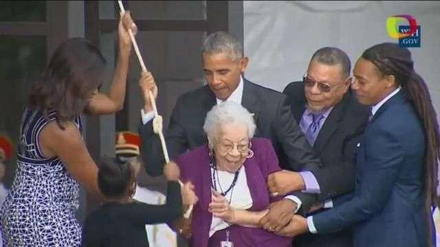 Obama inaugura el Museo Nacional de Historia y Cultura Afroamericana
