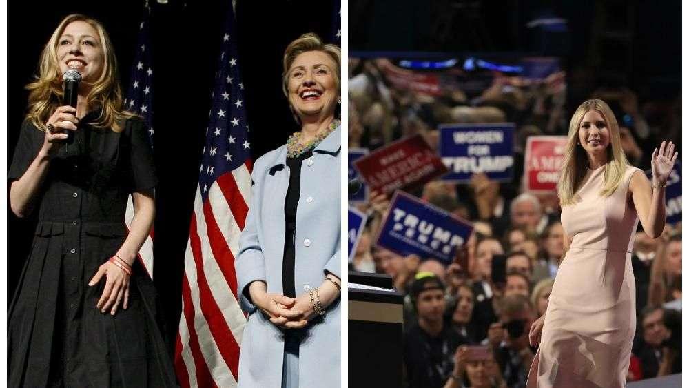 Ivanka Trump y Chelsea Clinton ¿Rivales políticas o amigas?
