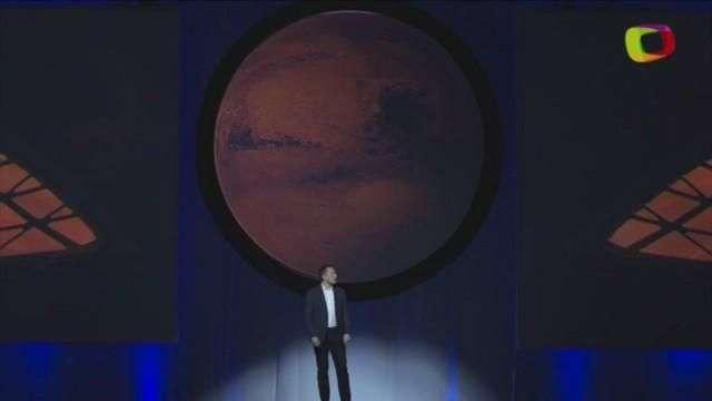 El empresario Elon Musk quiere iniciar la colonización de Marte en 2022